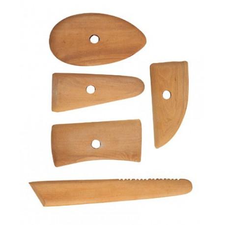Zestaw cyklin drewnianych szt. 5