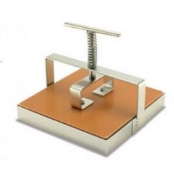 Wyciskarka do kafli kwadratowa 15x15 cm- stal nierdzewna
