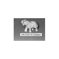 Forma Słoń z traba do góry