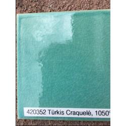 Szkliwo  Wolbring 420352 TURKUS craquelle