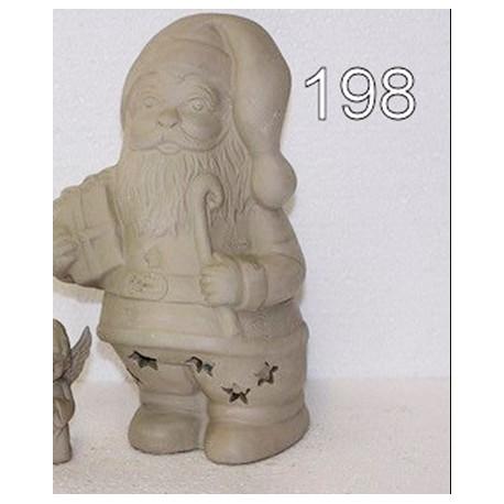Forma  gipsowa Mikołaj 21 cm