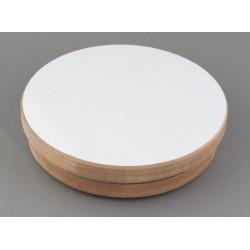 Stół ceramiczny obrotowy drewniany o średnicy 20cm