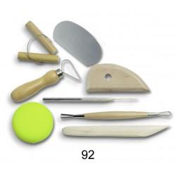 Zestaw narzędzi do  ceramiki - 16500