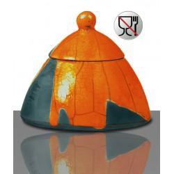 Szkliwo Raku Carl Jaeger 1169 Pomarańczowe