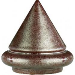 Szkliwo Carl Jaeger 8889 Brąz metaliczny mat jedwabisty